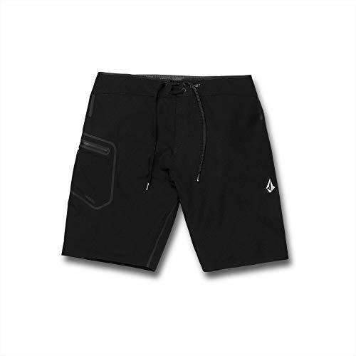 Volcom Men's Deadly Plus MOD 20 Boardshorts Black 32