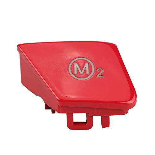 Qiilu Lenkradschalterknopf, 1 Paar Lenkrad M1 M2 Modusschalterknopf für M3 M4 F80 F82 F83(rot)