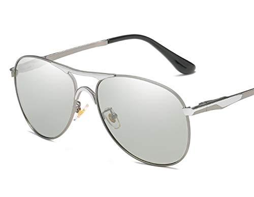 Zonnebril met wisselende kleuren 2019 zonnebril Outdoor seaside zonnecrème UV400 mode gepolariseerde zonnebril groot frame elegante zonnebril hip rode zonnebril bril mannelijke gotische set