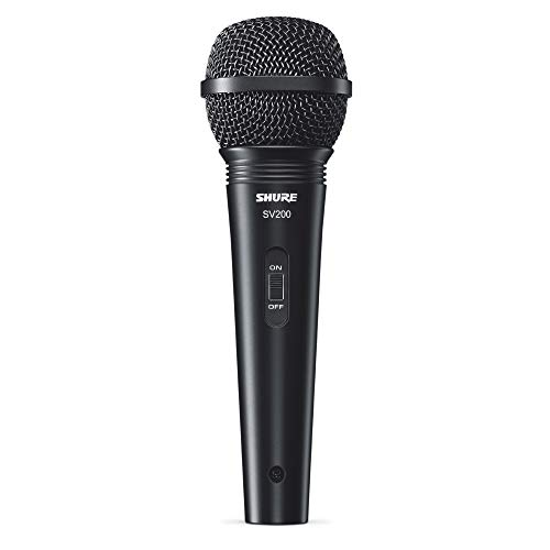 Shure Microfono Sv200, Dinamico