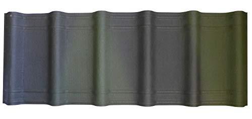 Onduvilla Dach u. Wandplatten 3D 1060x400x3,0 mm grün geflammt'