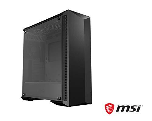 MSI MPG-GUNGNIR-100P Midi-Tower Schwarz - Computer-Gehäuse (Midi-Tower, PC, Schwarz, ATX,EATX,Micro ATX,Mini-ATX, Gaming, 17 cm)