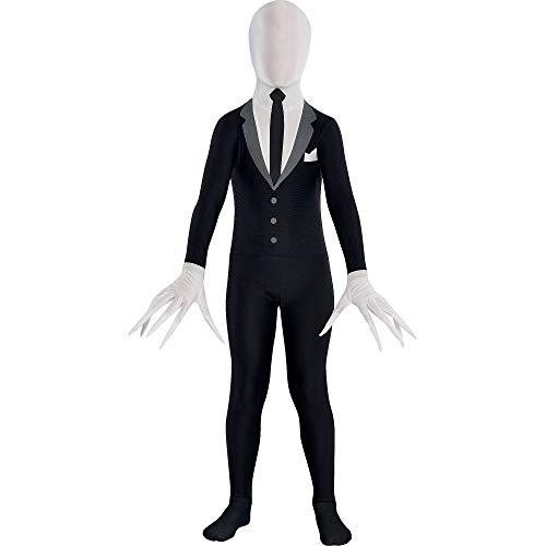 Disfraz de Slender Man para fiestas, diseo para hombre
