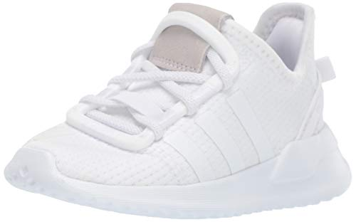 adidas Originals baby boys U_path Run Sneaker, White/White/White, 5 Toddler US