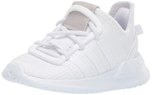adidas Originals Kids Unisex's U_Path Run Sneaker, White/White/White, 11.5K M US Little Kid