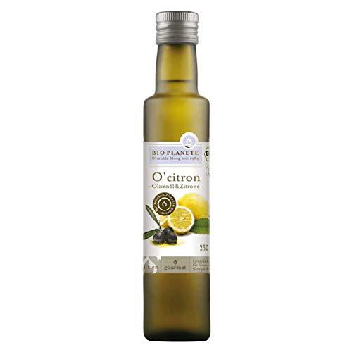"Bio Olivenöl mit Zitrone \""O´Citron\"" (Bio Planète) 250 ml"