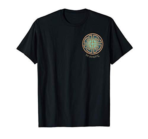 Irish Celtic Gaelic Dara Knot symbol. More artwork on back T-Shirt