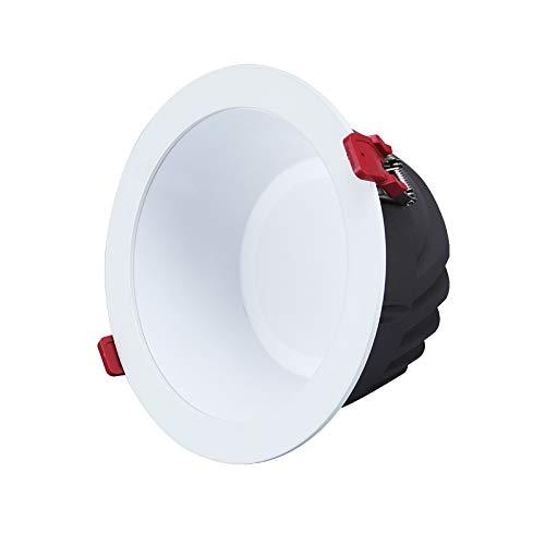 Downlight antideslumbrante LED luz de techo antiniebla integrada foco del hotel luz de techo del club para el dormitorio sala de estar cocina pasillo luz del pasillo