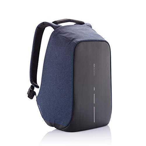 XD Design Bobby Compact Anti-Theft Laptop USB Backpack (Unisex Bag) (Navy)