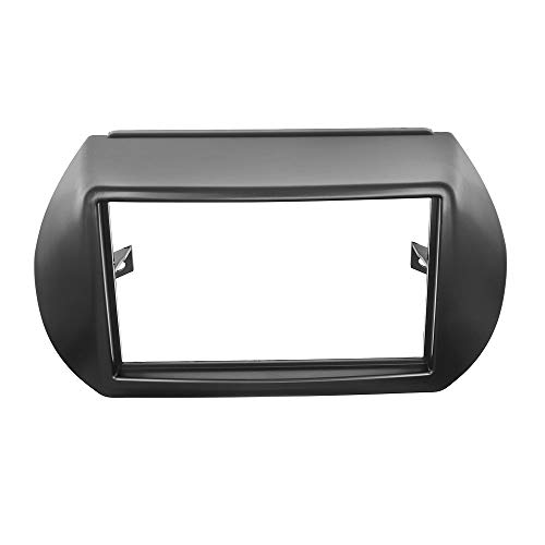 Piezas de automóvil 2 DIN Radio Fasia Frame Para Citroen Nemo Para Peugeot Bipper Fiat Fiorino Qubo 2008+ GPS Navigation Coche Radio Estéreo Doble 2DIN (Size : 178x102mm)