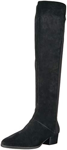 Aerosoles – Women's Cross Country Knee High – Elastic Suede Boot with Memory Foam Footbed