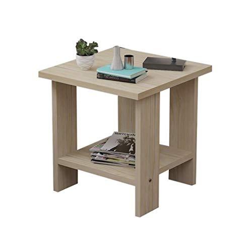 YJLGRYF Holz Nachttisch Einfache kleine Tischsofa Kleine Seite CabinetModern Storage Unit Innenministerium (Color : E, Size : 40 * 40 * 42cm)