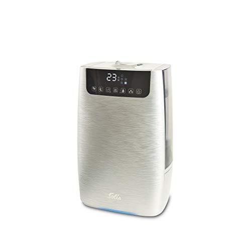 Solis Ultraschall-Luftbefeuchter mit Aromafunktion, Luft-Befeuchtung und -Reinigung, 4,5 Liter, Mit Hepa-Aktivkohle-Filter, Ultrasonic Pure 7217