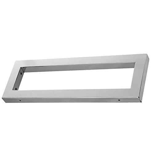 Bad Wandkonsole WK40 edel verchromt Maße: 400x150x30 mm Unterbau für Waschtisch und Waschtisplatte Liefermenge: 1 Stück