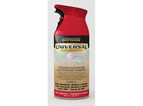 Spray Universal Brillante Rust-Oleum 400ml - Rojo Cardenal