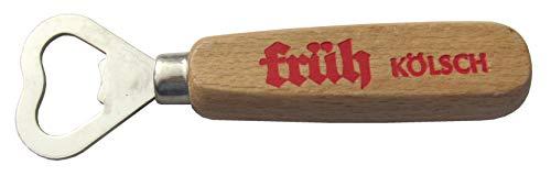 Früh Kölsch - Flaschenöffner mit Holzgriff - Motiv 1