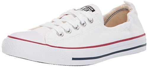 Converse Unisex Chuck Taylor All Star Low Basketball Shoe (7.5 B(M) US Women/5.5 D(M) US Men, Optical White)