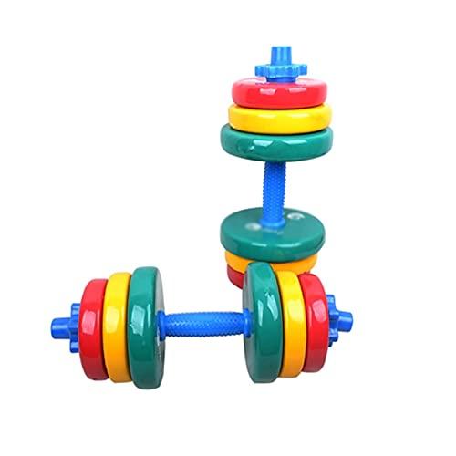 SFF Pesas (20kgx2) Barra de mancuerna Ajustable, Peso Libre para la Fortaleza Fitness Training Multifuncional Home Fitness Office Aptitud Física