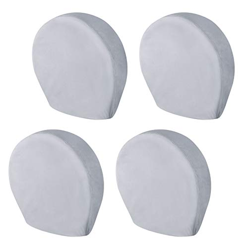 eletecpro RV Tire Covers Set of 4 with Heavy Duty 600D Oxford and Waterproof Coating Tire Cover RV...