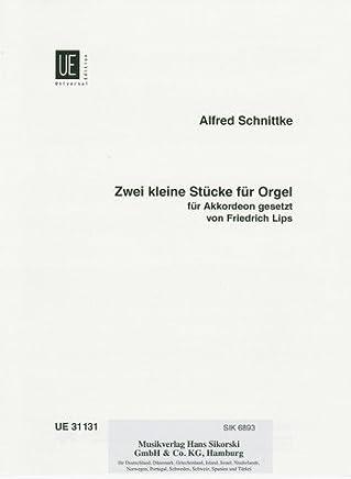 2piccoli pezzi per organo: impostato per fisarmonica