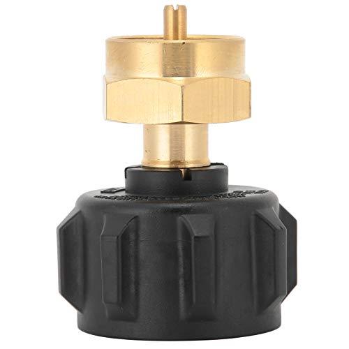 Cikonielf Regulador De Gas Adaptador De Recarga De Propano Universal para Válvula Reguladora De Cilindro Desechable De 20Lb Qcc1 A 1Lb para Aparatos De Gas De Camping