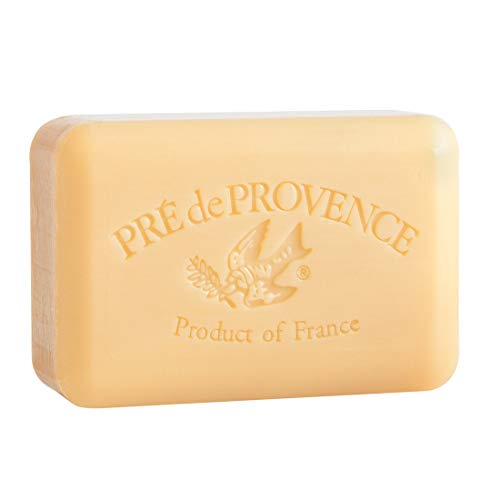 Pre de Provence Artisanal French Soap Bar Enriched with Shea Butter, Sandalwood, 250 Gram