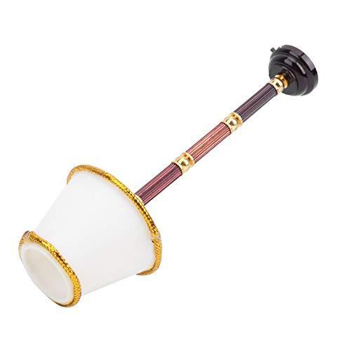 Asixxsix Luz de Piso en Miniatura, Conveniente para Usar, Modelo de lámpara de Piso Simple de Apariencia clásica, decoración para niños, Regalos para niños