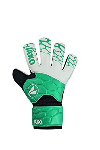 JAKO Prestige Basic Junior RC TW Handschuhe, türkis/anthrazit, 5