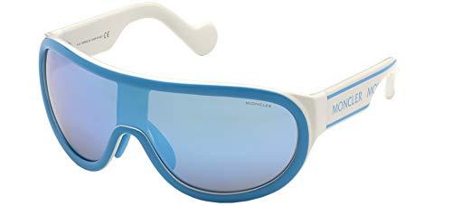 Moncler Sonnenbrillen ML0106 Blue White/Blue 0/0/125 Unisex