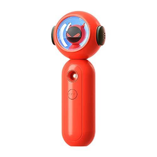 XXCLZ USB-Lade Nano Feuchtemessgerät, Luftbefeuchter, 800 ml, mit Nachtlicht, für Schlafzimmer, Babyzimmer, Wohnzimmer, Auto,Red