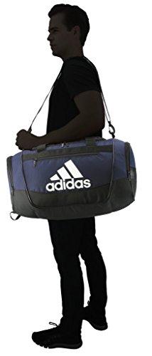 adidas Unisex Defender III Small Duffel Bag, Team Navy Blue, Small