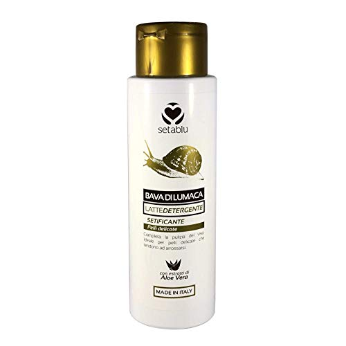 Mediawave store - SETABLU Bava di Lumaca Latte detergente 579896 estratto Aloe Vera 150 mL