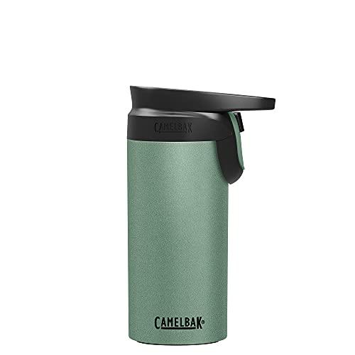 CamelBak Forge Flow Botella para Beber, Unisex, Verde Oscuro, 350 ML