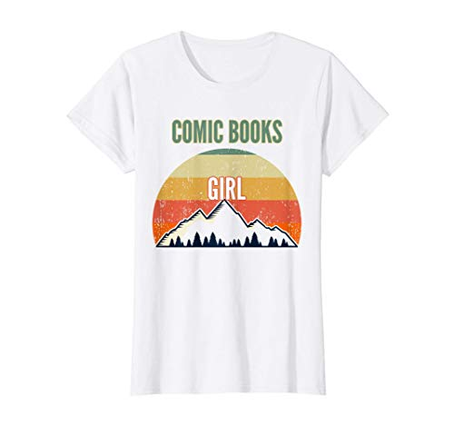 Comic Books Gift for Women, Comic Books Guy T-Shirt
