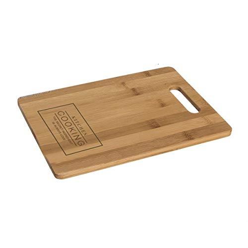 Home Gadgets - Tabla de cortar (28 cm), color marrón