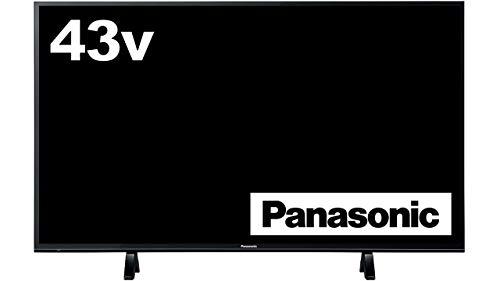 パナソニック 43V型 4K対応 液晶 テレビ VIERA HDR対応 裏番組録画対応 TH-43FX600