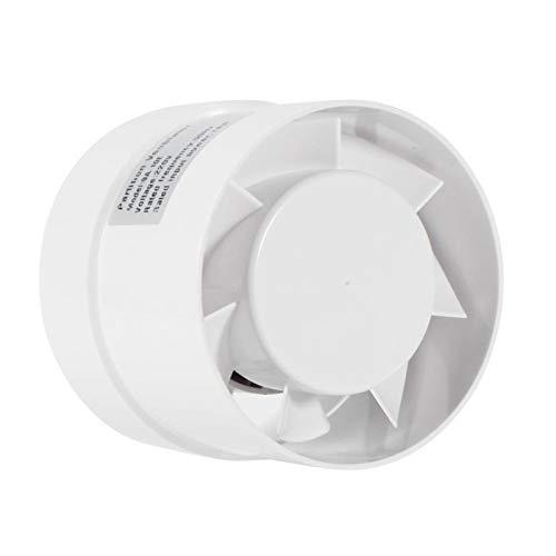 Shuxiang-rejilla de ventilación 4/6 pulg Inicio de escape del conducto extractor de aire de ventilación, ventanilla pared de baños Ventilador WC Cocina Ventilador de ventilación 110V 220V Accesorios d