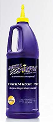 Royal Purple Synfilm Recip 100 High Performance Synthetic Air Compressor Lubricant