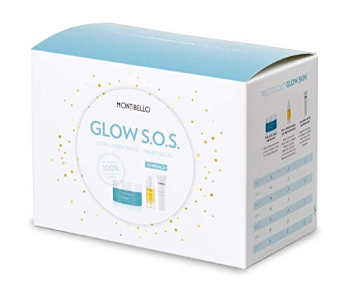 Montibello Pack Glow S.O.S. Ultra-Hidratante, Pieles Secas, Crema Hyalufeel 50ml (Regalo Collagen Infusion 10ml + Mask Hyalufeel 10ml)
