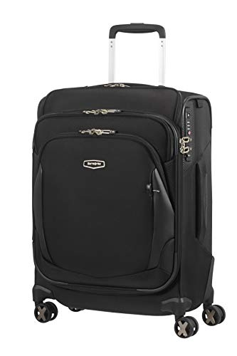 Samsonite X'Blade 4.0 - Spinner S Toppocket Hand Luggage , 55 cm, 41 Litre, Black