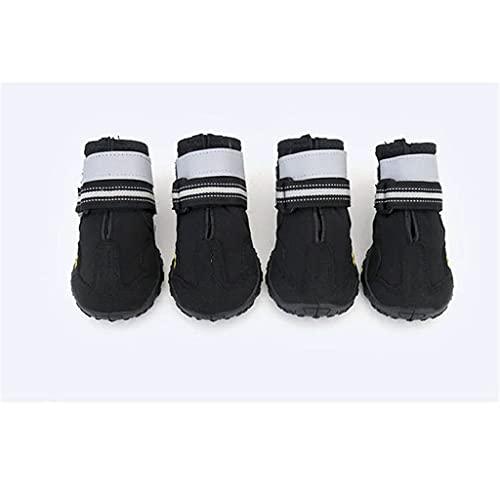 HDDFG Zapatos Rojos Zapatos para Correr para Perros Zapatos Transpirables Malla Senderismo Correr Zapato de Verano para Perros PVC Zapatos Antideslizantes Perros Mascotas Accesorios
