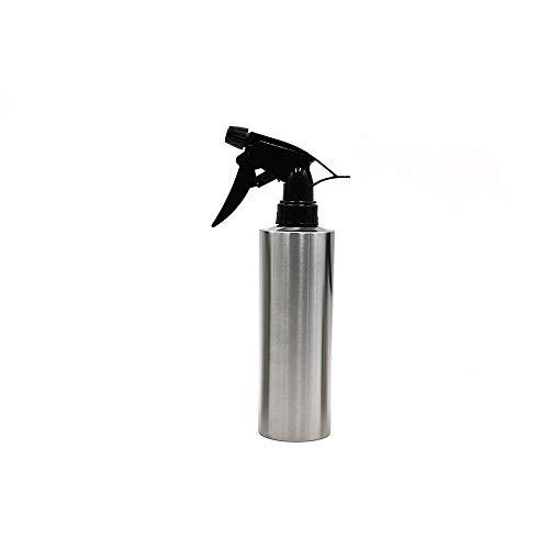 JYL Dispensador de pulverizador de Aceite de Oliva, Botella de Spray de Aceite de Acero Inoxidable 304, Botella dispensadora de Aceite para Asar 350 ml para Cocina, Cocina, Barbacoa, horneado de Pan