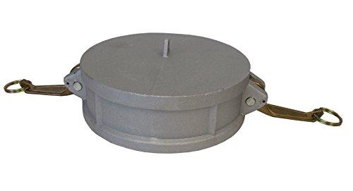 CAMLOCK Cap - 300DC CAM & Groove Fitting 3 INCH Aluminum Cap