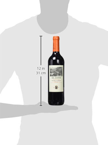 El Coto Rioja Vino Tinto - 6 botellas x 750 ml - Total: 4500 ml