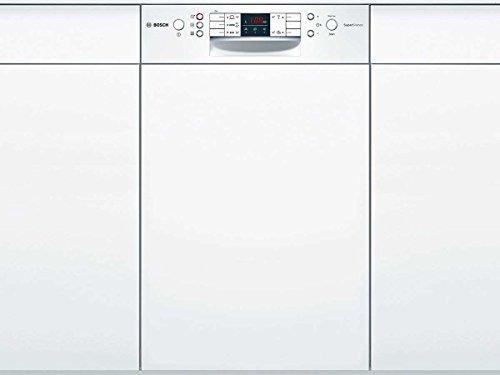 Bosch ActiveWater SPI58N05EU Semi built-in 10coperti A+ Acciaio inossidabile, Bianco