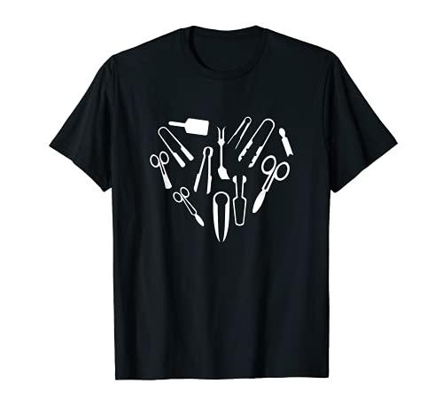 Divertidas herramientas de soplado de vidrio para regalo de corazón Camiseta