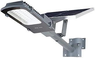 Gebosun Luces LED de 60 W solares para exteriores, IP65 impermeable al atardecer a amanecer, 6000 lúmenes, 6000 K, para...
