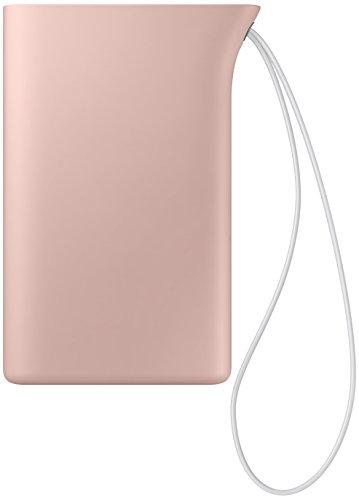 Samsung Kettle 5,100mAh Wiederaufladbarer Externer Akkupack EB-PA510BREG mit 1x USB-A-Ladeausgang, Handschlaufe, Ladekabel mit integriertem Standfuss - Rosa