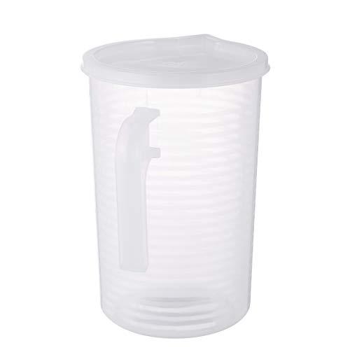 Hemoton - Medidores de plástico transparente para líquidos con tapa medidora epoxi,...