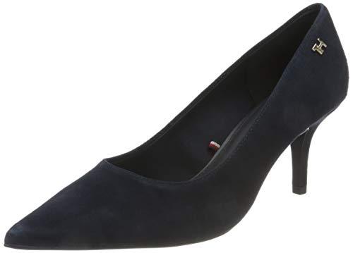 Tommy Hilfiger Indra 1b1, Zapatos Mujer, Azul, 39 EU